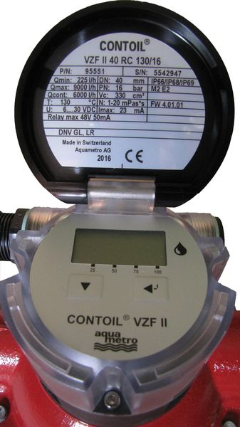 VZF II 40 RC _display