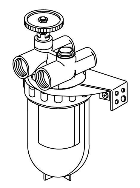 Фильтр жидкого топлива Oilpur для двухтрубных систем
