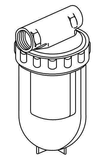 Фильтр жидкого топлива Oilpur для однотрубных систем без вентиля