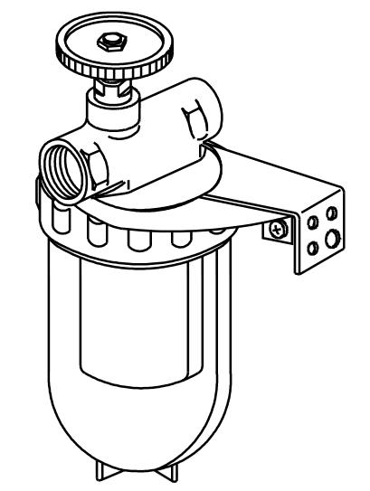 Фильтр жидкого топлива Oilpur для однотрубных систем