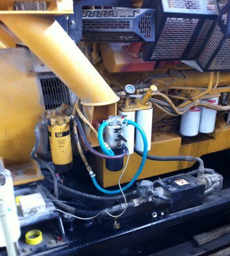 Учет топлива системой AIC-908 на генераторе