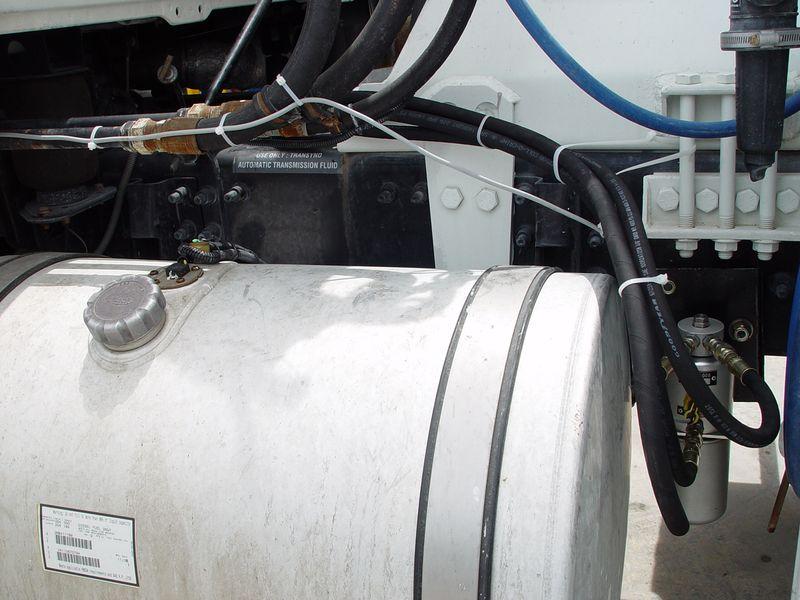 Учет топлива системой AIC-908 на грузовике